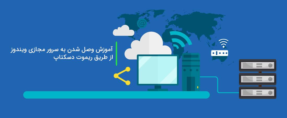 آموزش وصل شدن به سرور مجازی ویندوز از طریق ریموت دسکتاپ